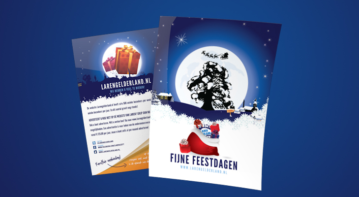 Drukwerk - Kerstfair Larengelderland