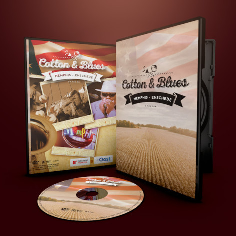 DVD Case Cotton and blues