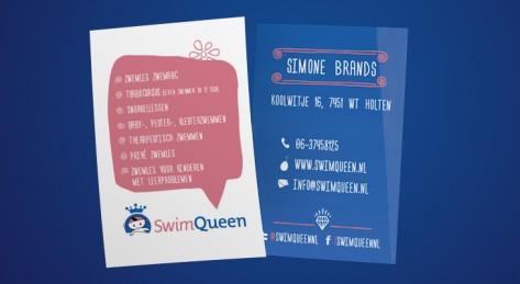 Drukwerk_SwimQueen Vsitekaart