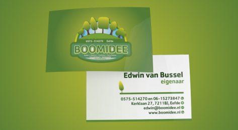 Drukwerk - Boomidee Visitekaartjes
